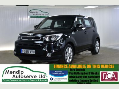 Kia Soul SUV 1.6 GDi Connect Plus 5dr