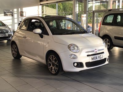Fiat 500C Convertible 1.2 S (s/s) 2dr
