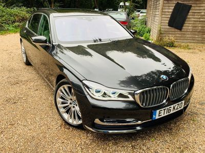 BMW 7 Series Saloon 3.0 730Ld Saloon 4dr Diesel Auto (s/s) (265 ps)