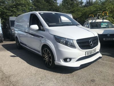 MERCEDES-BENZ VITO Panel Van 1.6 109CDI Compact Panel Van 6dr