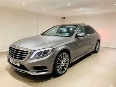 Mercedes-Benz S Class Saloon 3.0 S350 CDI BlueTEC AMG Line L (Executive) 7G-Tronic Plus (s/s) 4dr