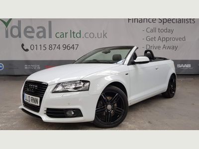 Audi A3 Cabriolet Convertible 1.8 TFSI S line Final Edition Cabriolet S Tronic 2dr