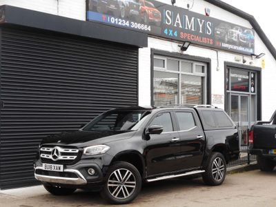 Mercedes-Benz X Class Pickup 2.3 X250d Power Auto 4MATIC 4dr