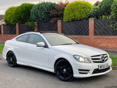 Mercedes-Benz C Class Coupe 2.1 C220 CDI AMG Sport Edition (Premium Plus) 2dr