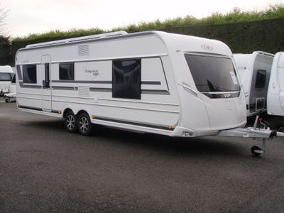 LMC 655 Vip Exquisit Tourer BRAND NEW 2020 MODEL,5 BERTH,FIXED BED CARAVAN,RING FOR GOOD DEAL.