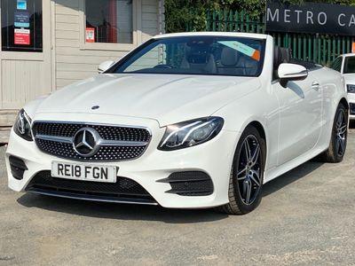 Mercedes-Benz E Class Convertible 2.0 E300 AMG Line (Premium) Cabriolet G-Tronic+ (s/s) 2dr