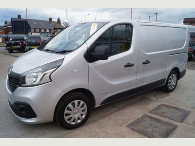 RENAULT TRAFIC Panel Van 1.6DCi SL27 BUSINESS PLUS (AC) L1 VAN