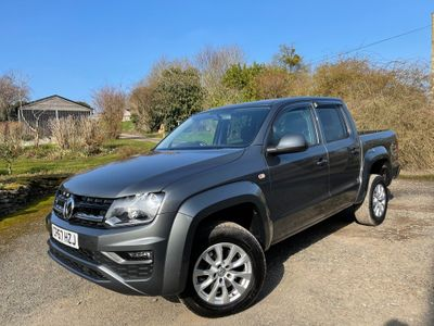 Volkswagen Amarok Pickup 3.0 TDI V6 BlueMotion Tech Trendline Double Cab Pickup Auto 4Motion (s/s) 4dr