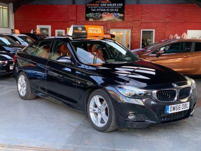 BMW 3 Series Gran Turismo Hatchback 2.0 318d M Sport Gran Turismo Auto (s/s) 5dr