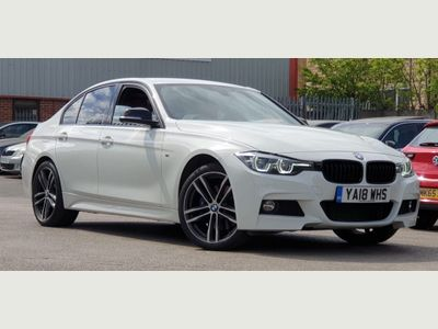 BMW 3 Series Saloon 2.0 320d BluePerformance M Sport Shadow Edition Auto xDrive (s/s) 4dr