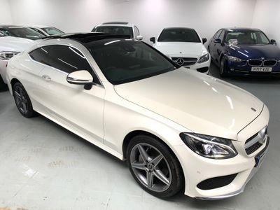Mercedes-Benz C Class Coupe 2.0 C200 AMG Line (Premium Plus) G-Tronic+ 4MATIC (s/s) 2dr