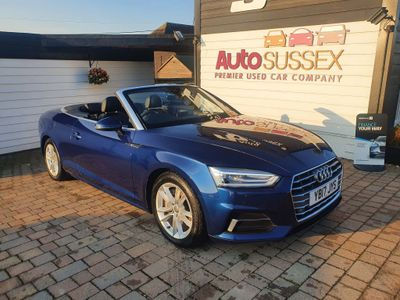 Audi A5 Cabriolet Convertible 2.0 TDI Sport Cabriolet S Tronic (s/s) 2dr