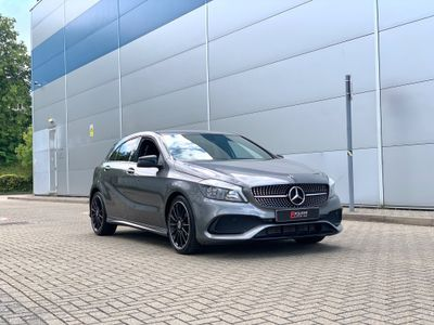 Mercedes-Benz A Class Hatchback 1.6 A180 AMG Line (Executive) (s/s) 5dr