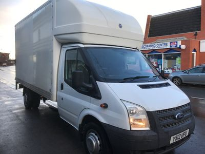 Ford Transit Chassis Cab LUTON WITH TAIL LIFT