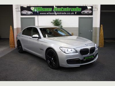 BMW 7 Series Saloon 3.0 730d BluePerformance M Sport (s/s) 4dr