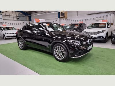 Mercedes-Benz GLC Class Coupe 3.0 GLC350d V6 AMG Line G-Tronic 4MATIC (s/s) 5dr