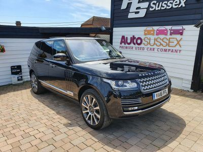 Land Rover Range Rover SUV 5.0 V8 Autobiography Auto 4WD (s/s) 5dr LWB