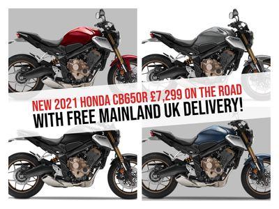 Honda CB650R Naked 650 ABS