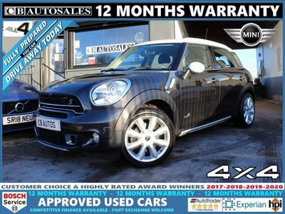 MINI Countryman SUV 1.6 Cooper S ALL4 (s/s) 5dr
