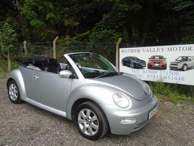 Volkswagen Beetle Convertible 1.6 Cabriolet 2dr