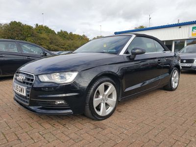Audi A3 Cabriolet Convertible 2.0 TDI Sport Cabriolet S Tronic quattro 2dr