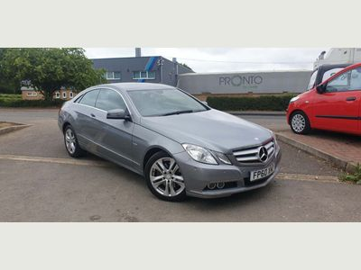 Mercedes-Benz E Class Coupe 3.5 E350 CGI BlueEFFICIENCY SE G-Tronic 2dr