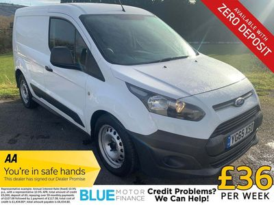 Ford Transit Connect Panel Van 1.6 TDCi ECOnetic 200 L1 4dr