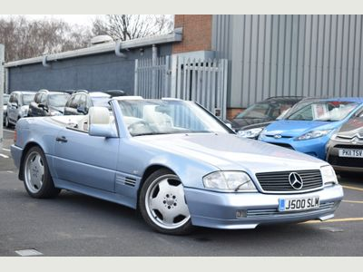 Mercedes-Benz SL Class Convertible 5.0 SL500 Limited Edition 2dr