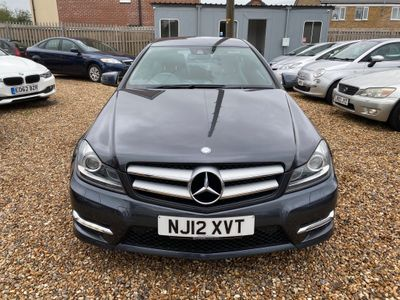 Mercedes-Benz C Class Coupe 1.8 C180 BlueEFFICIENCY AMG Sport 2dr