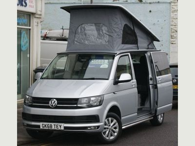 Volkswagen Transporter Van Conversion T6 2.0TDi EURO6 4 Berth 4 Seat Campervan SWB Highline With Reimo Roof