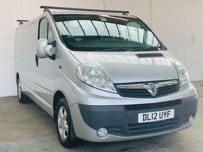 Vauxhall Vivaro Panel Van 2.0 CDTi Sportive 2900 Panel Van MWB 4dr (LWB, EU5)