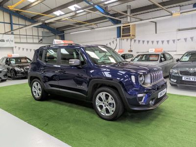 Jeep Renegade SUV 1.0 GSE T3 Limited (s/s) 5dr