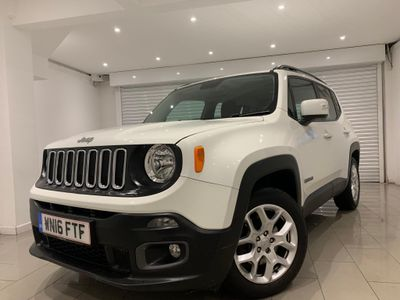 JEEP RENEGADE SUV 1.4 T MultiAirII Longitude (s/s) 5dr