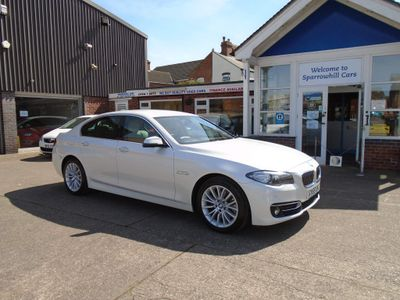 BMW 5 Series Saloon 2.0 525d Luxury 4dr