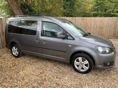 Volkswagen Caddy Maxi MPV 1.6TDI C20 Wheelchair adapted 5 seats