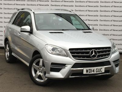 Mercedes-Benz M Class SUV 2.1 ML250 CDI BlueTEC AMG Sport 7G-Tronic Plus 4x4 5dr