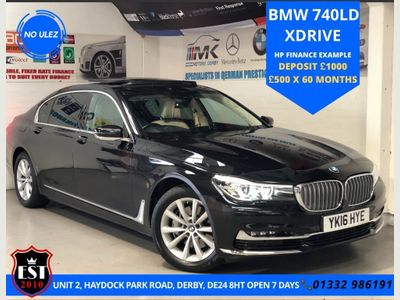 BMW 7 Series Saloon 3.0 740Ld Auto xDrive (s/s) 4dr