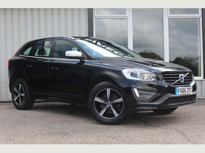 Volvo XC60 SUV 2.4 D4 R-Design Lux Nav AWD (s/s) 5dr