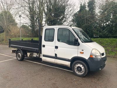 Renault Master Tipper 2.5 dCi DCLL35 Crewcab Tipper 4dr (LWB)