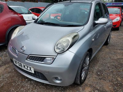 Nissan Micra Hatchback 1.6 16v Active Luxury 5dr