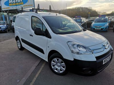 Citroen Berlingo Panel Van 1.6 HDi L1 625 LX Panel Van 5dr Diesel Manual (133 g/km, 75 bhp)