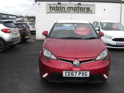 MG MG3 Hatchback 1.5 VTi-TECH 3Form Sport (s/s) 5dr
