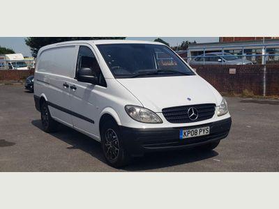 Mercedes-Benz Vito Panel Van 2.1 109CDI Dualiner Basic High Roof Long Panel Van LWB 5dr