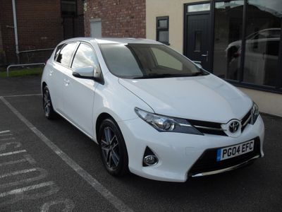 Toyota Auris Hatchback 1.33 VVT-i Icon+ 5dr