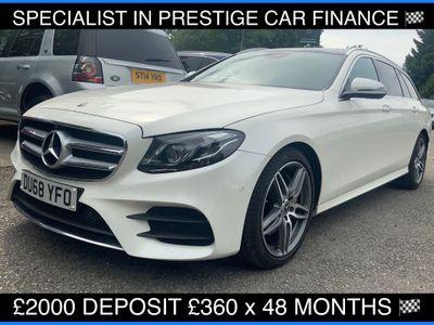 Mercedes-Benz E Class Estate 2.0 E220d AMG Line (Premium Plus) G-Tronic+ (s/s) 5dr