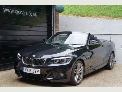 BMW 2 Series Convertible 2.0 225d M Sport Auto (s/s) 2dr