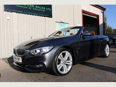 BMW 4 SERIES Convertible 3.0 430d Luxury 2dr