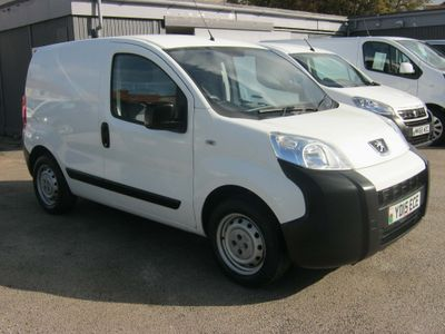 PEUGEOT BIPPER Panel Van 1.3 HDi S with LOW MILEAGE