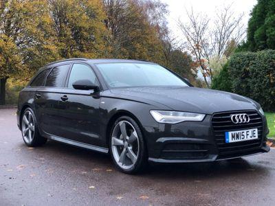 Audi A6 Avant Estate 3.0 TDI V6 Black Edition Avant S Tronic (s/s) 5dr