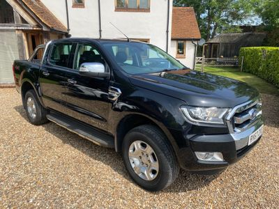 Ford Ranger Pickup 2.2 TDCi Limited 2 Double Cab Pickup 4WD (s/s) 4dr